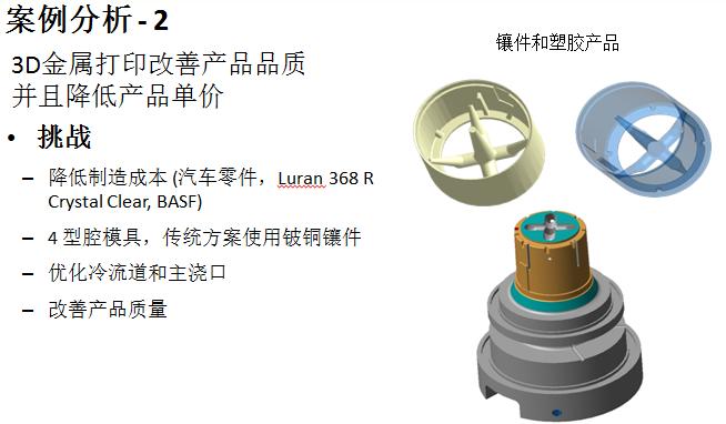 3D金属打印改善产品品质 并且降低产品单价